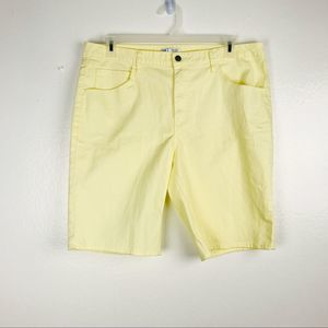Riders by Lee Classic Bermuda Yellow Shorts